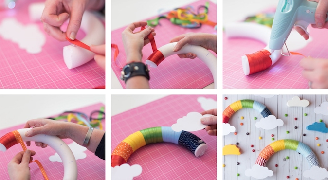 Spring crafts and creative manual activities